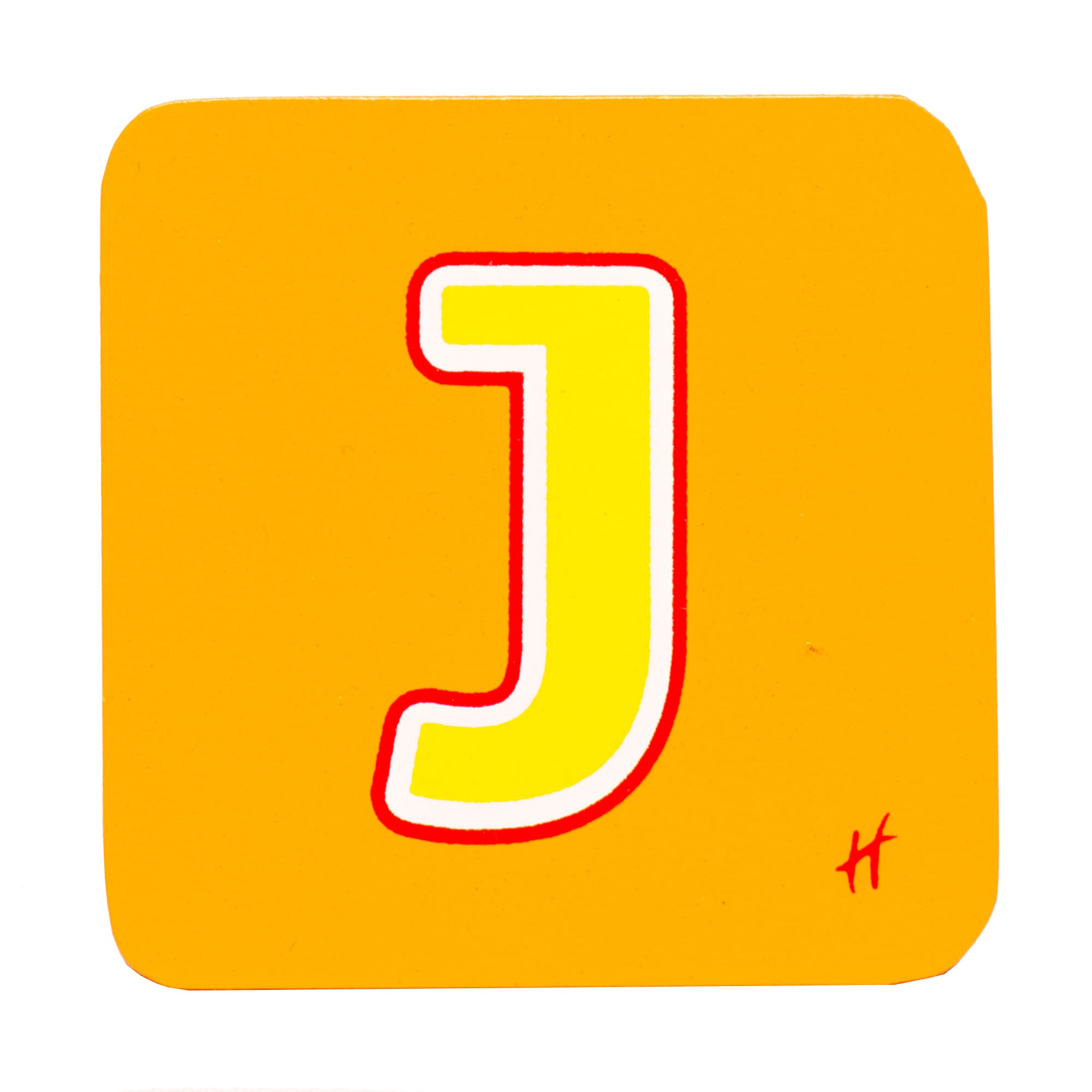 Hamleys Wooden Letter J