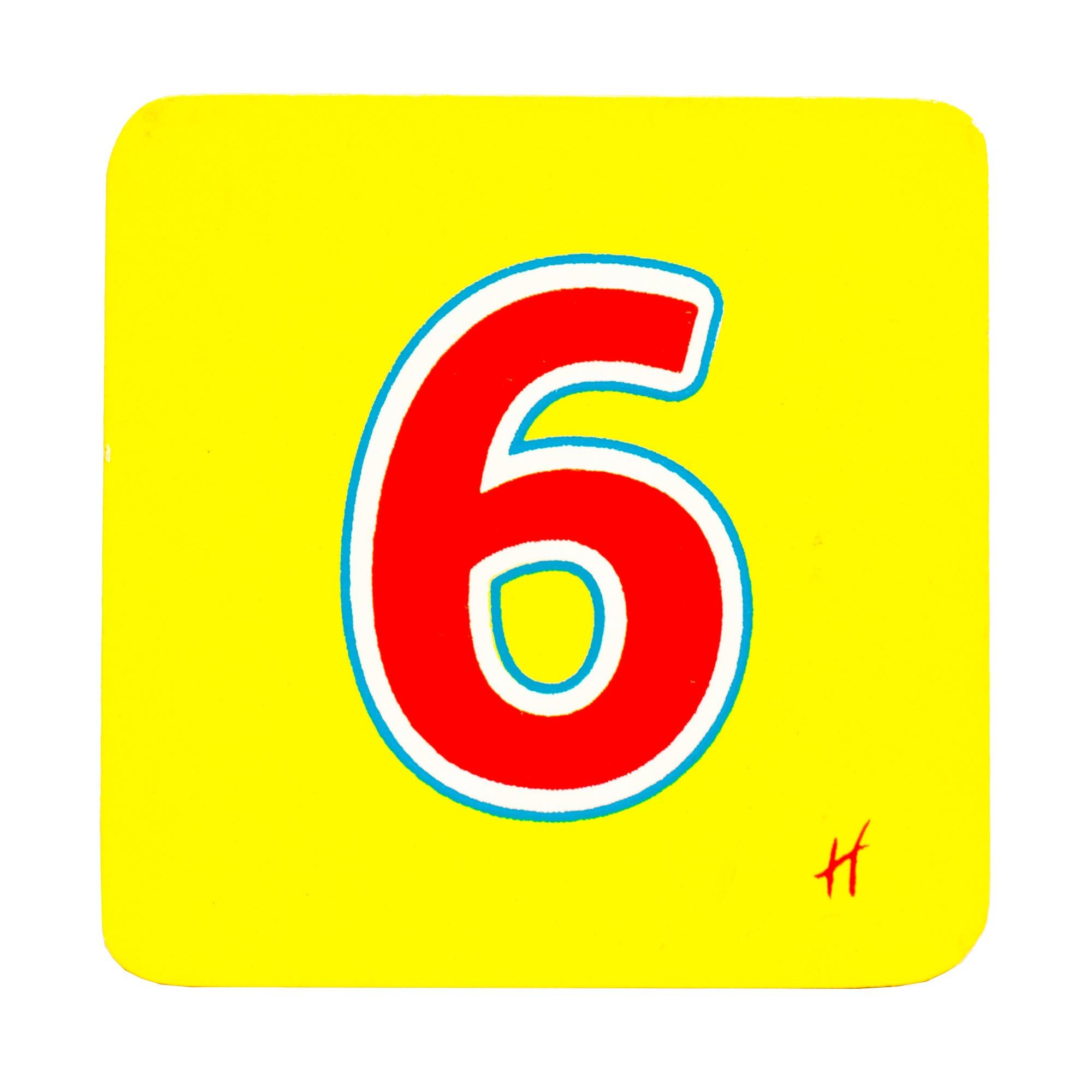 Hamleys Wooden Number 6