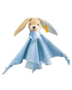 Steiff Baby Blue Hoppel Rabbit Comforter