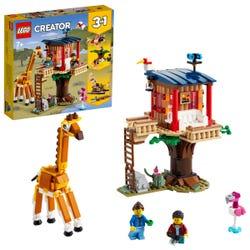 LEGO Creator 3 in 1 Safari Wildlife Tree House Set 31116