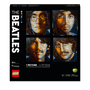 LEGO Art The Beatles Set for Adults Wall Décor 31198