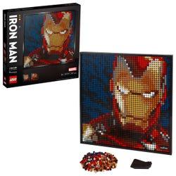 LEGO Art Marvel Studios Iron Man Wall Décor Set 31199