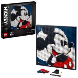 LEGO Art Disney's Mickey Mouse Poster Canvas Set 31202