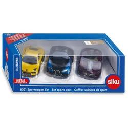 Siku Die Cast Sports Cars Set of 3
