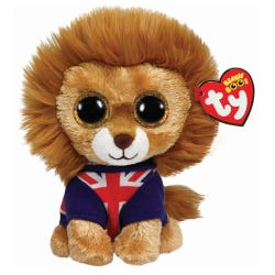 TY Hero Beanie Boo Union Jack