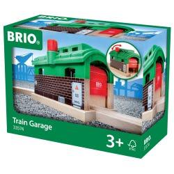 BRIO World Train Garage