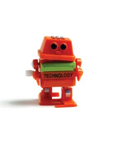 Wind up Robot
