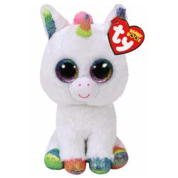TY Pixy White Unicorn Beanie Boos