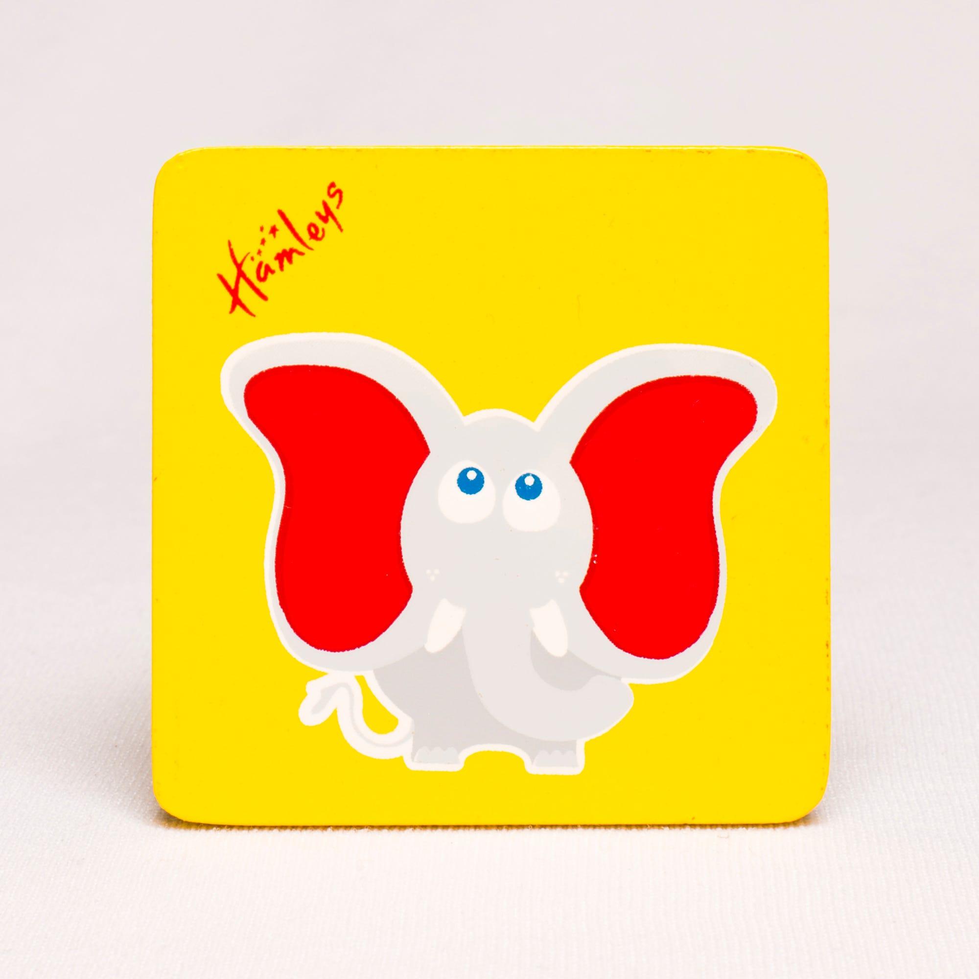 Hamleys Wooden Elephant Plaque