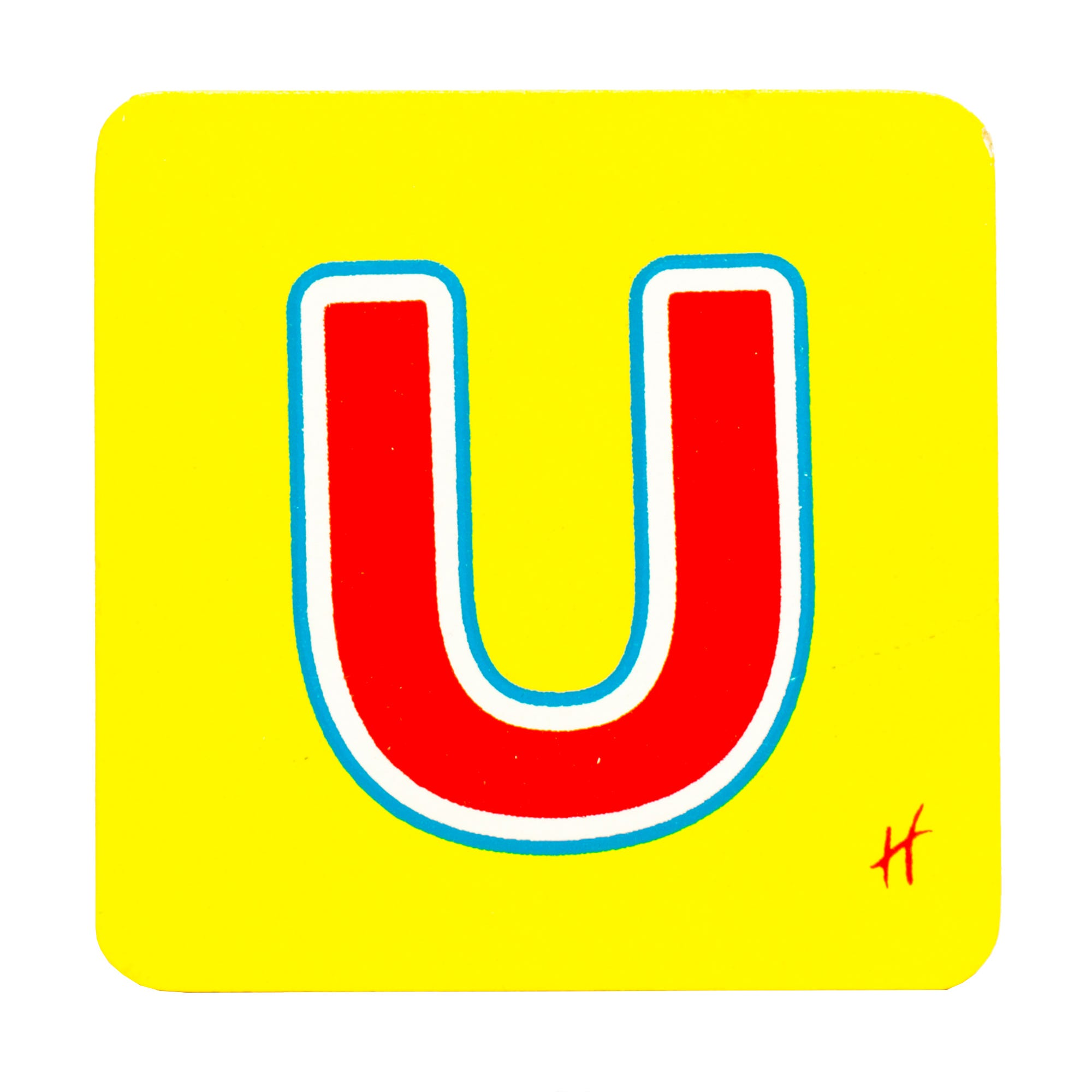 Hamleys Wooden Letter U
