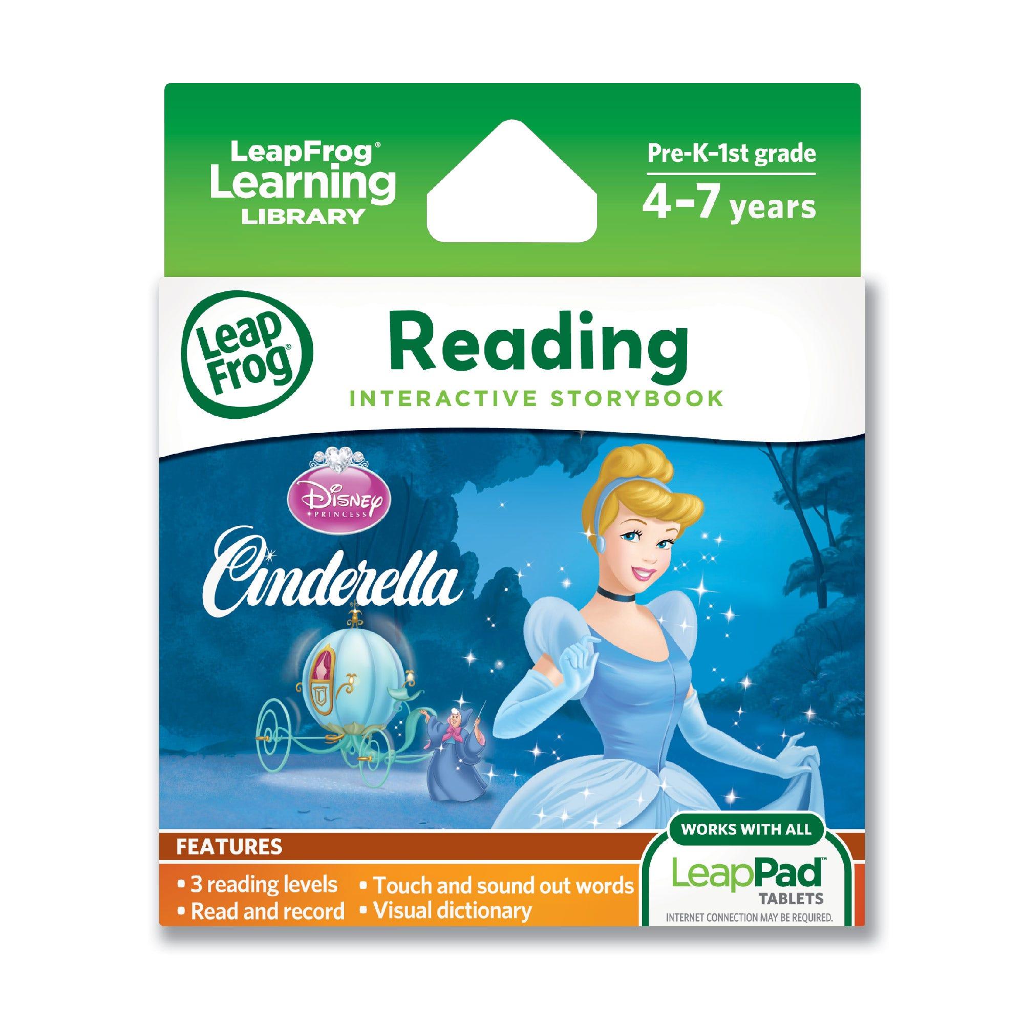 LeapFrog Disney Princess Cinderella Interactive Storybook