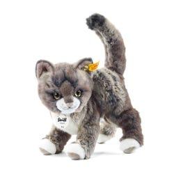 Steiff 25cm Grey & Beige Kitty Cat Soft Toy