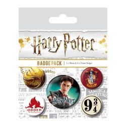 Harry Potter Gryffindor Badges