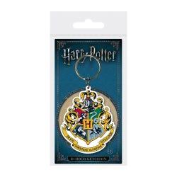 Harry Potter Hogwarts Crest Rubber keyring