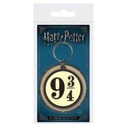 Harry Potter 9 3/4 Rubber keyring
