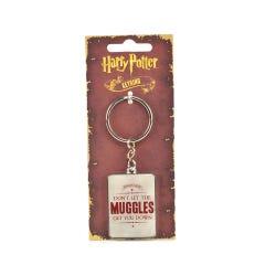 Harry Potter Muggles Keyring