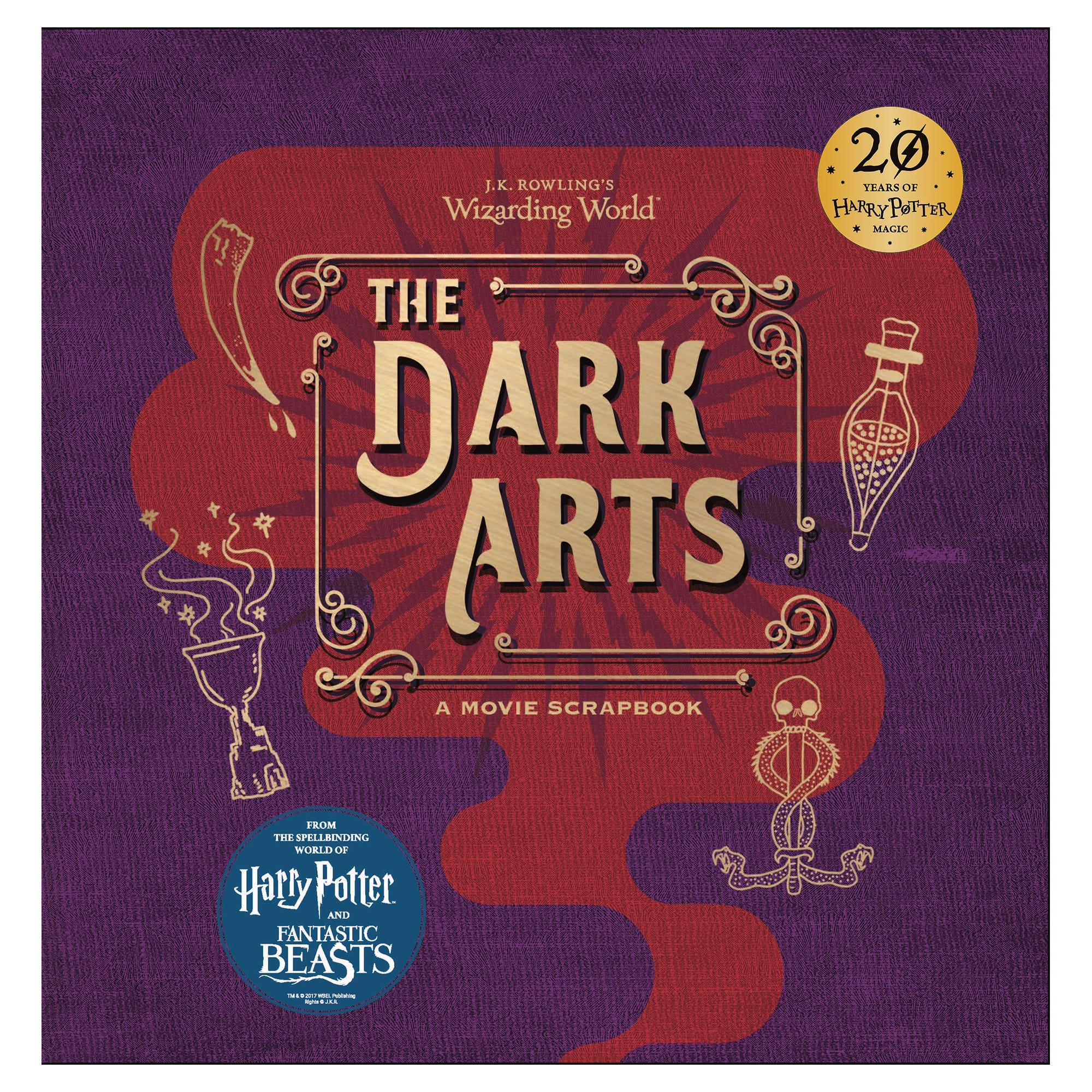 Harry Potter The Dark Arts A Movie Scrapbook