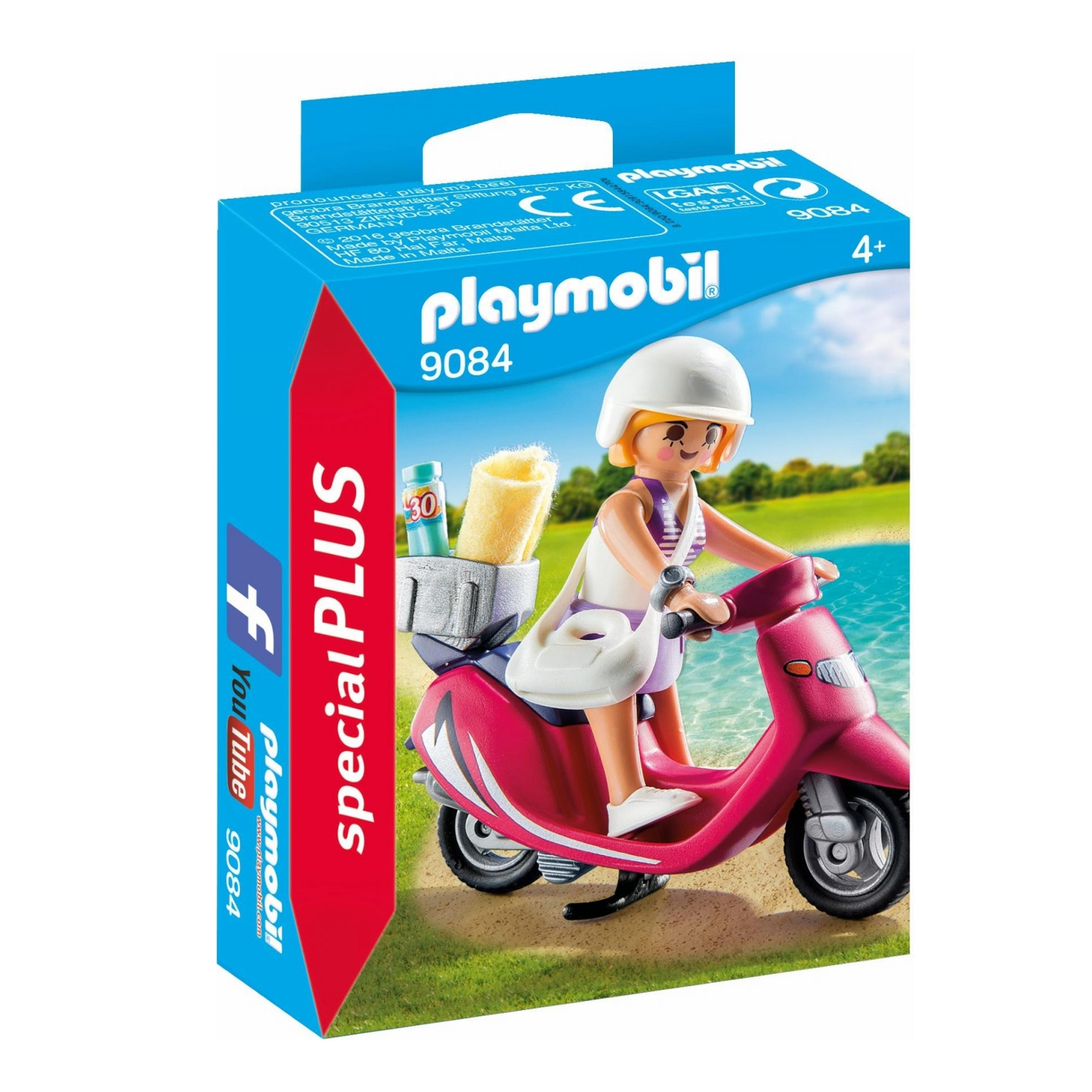 Playmobil Special Plus Beachgoer With Scooter 9084