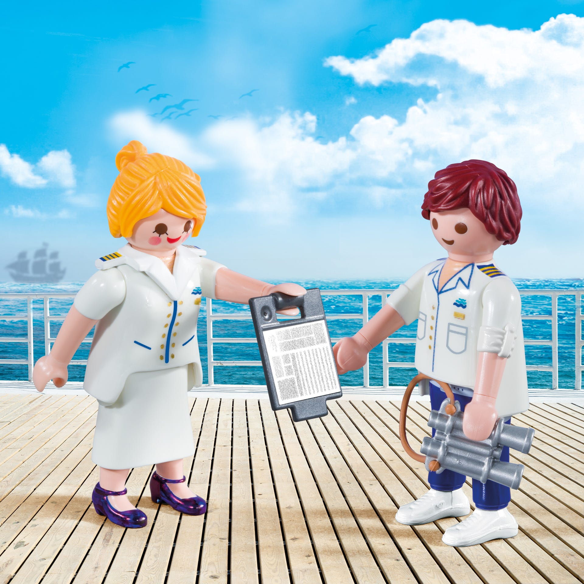 Playmobil Collectable Cruise Ship Officers 9216