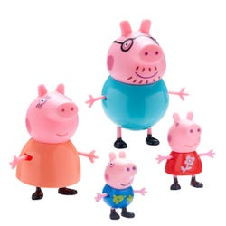 Peppa Pig Family Figure 4 Pack