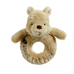 Disney Winnie The Pooh Classic Ring Rattle