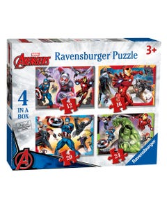 Ravensburger Marvel Avengers 4 Puzzle Pack