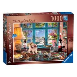 Ravensburger The Puzzler's Desk 1000 Piece Puzzle