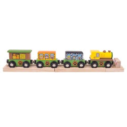 Bigjigs Rail Safari Train Set