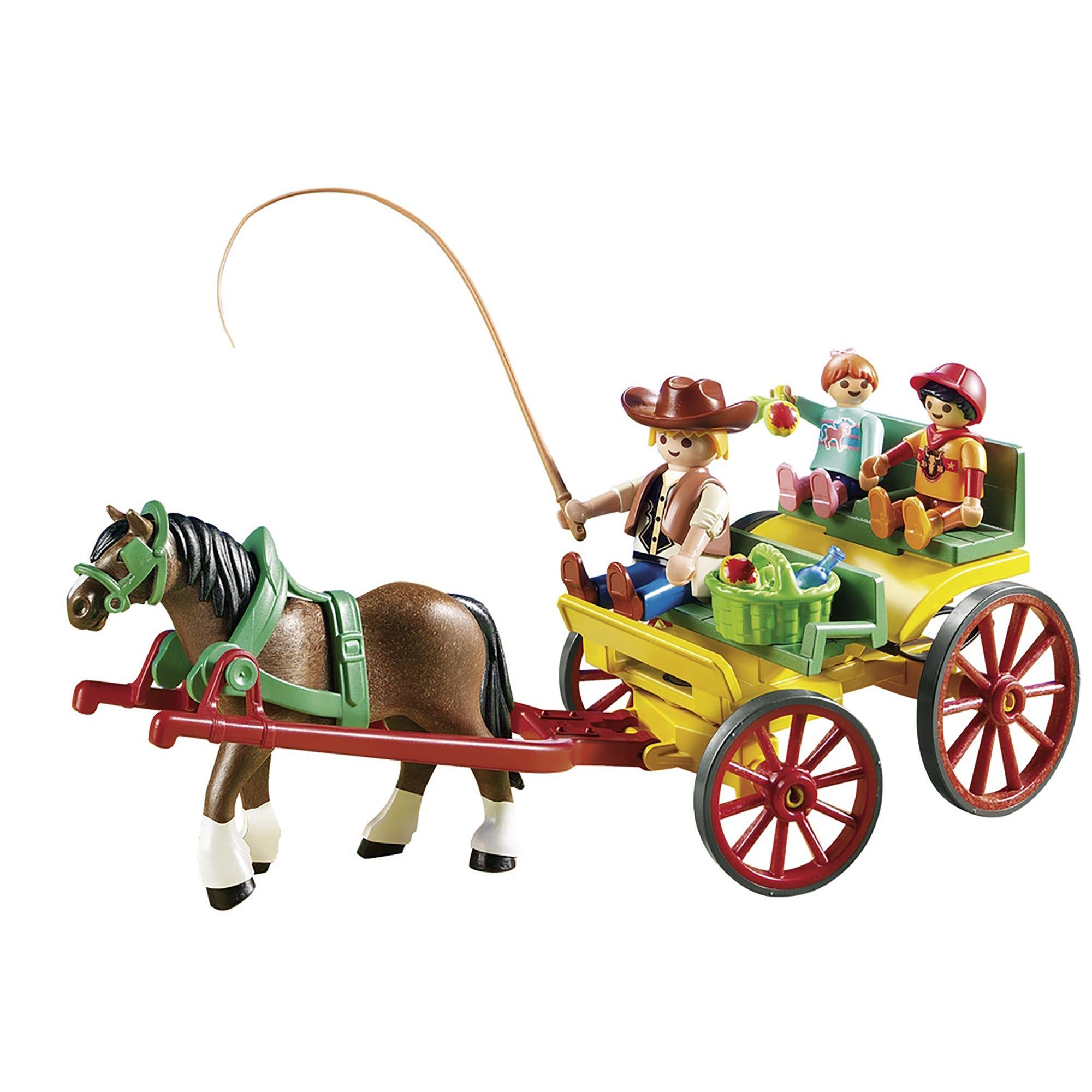 Playmobil Country Horse Drawn Wagon 6932