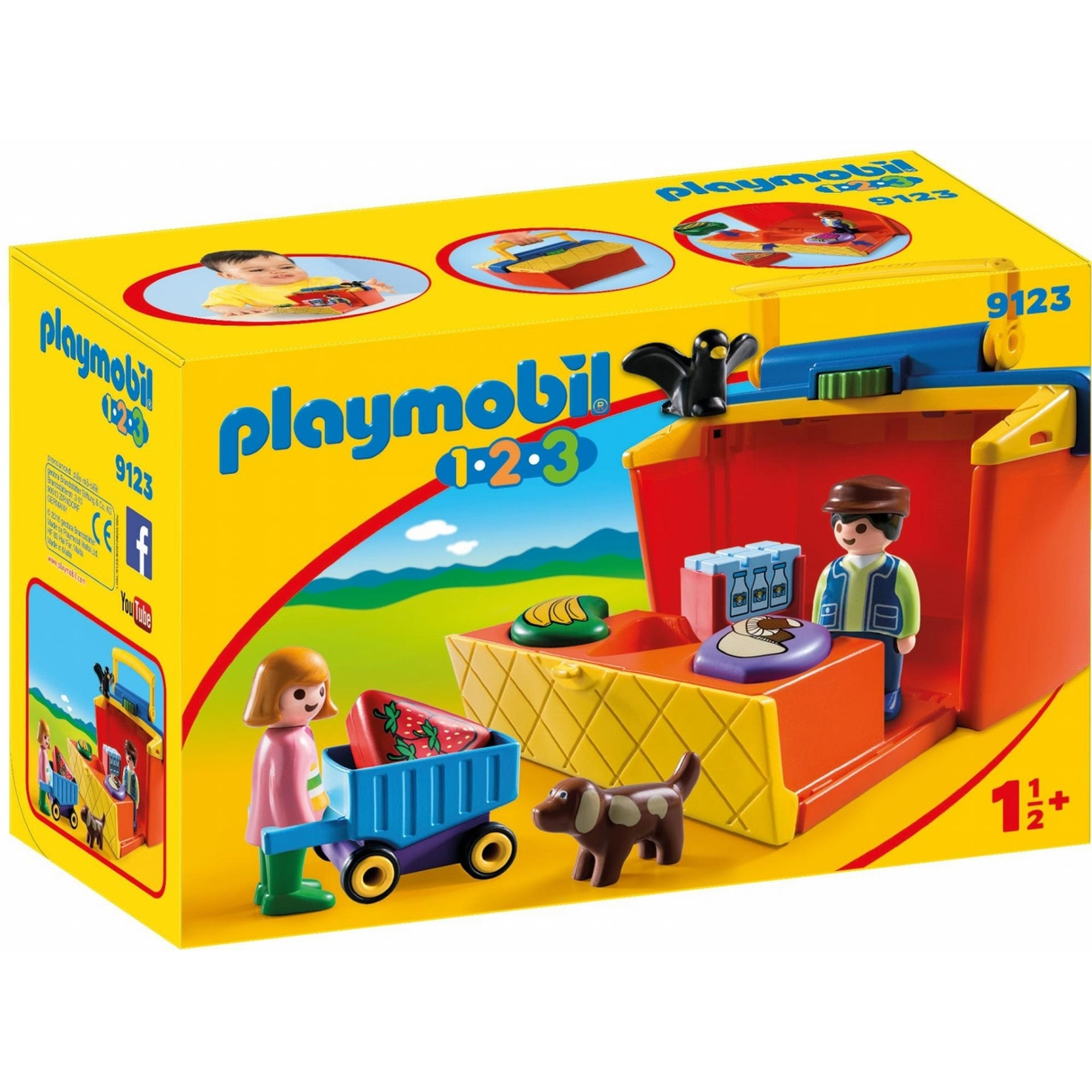 Playmobil 123 Take Along Market Stall 9123