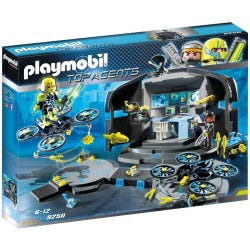 Playmobil Top Agents Dr Drones Command Base 9250