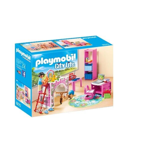 Playmobil Children Room Building Set