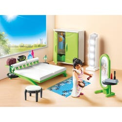Playmobil Bedroom with Working Lights