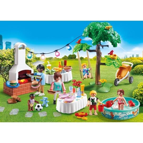 Playmobil Housewarming Party Party Building Set