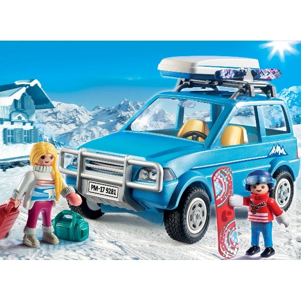 Playmobil Action Winter SUV