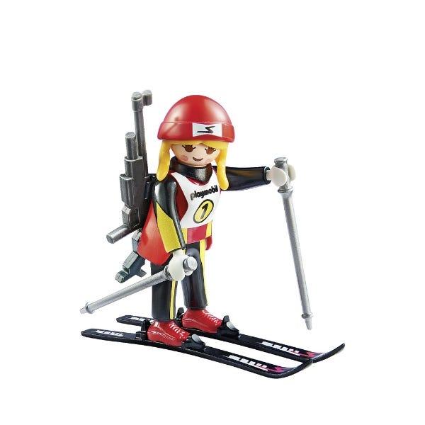Playmobil Action Female Biathlete