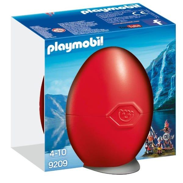 Playmobil Vikings With Shield Egg