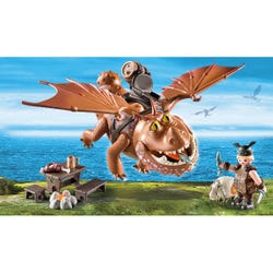 Playmobil How to Train the Dragon Fishlegs with Meatlug