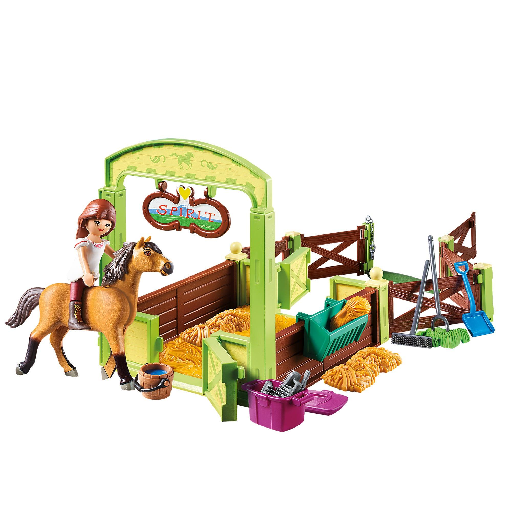 Playmobil Dreamworks Spirit Horse Box Lucky & Spirit 9478