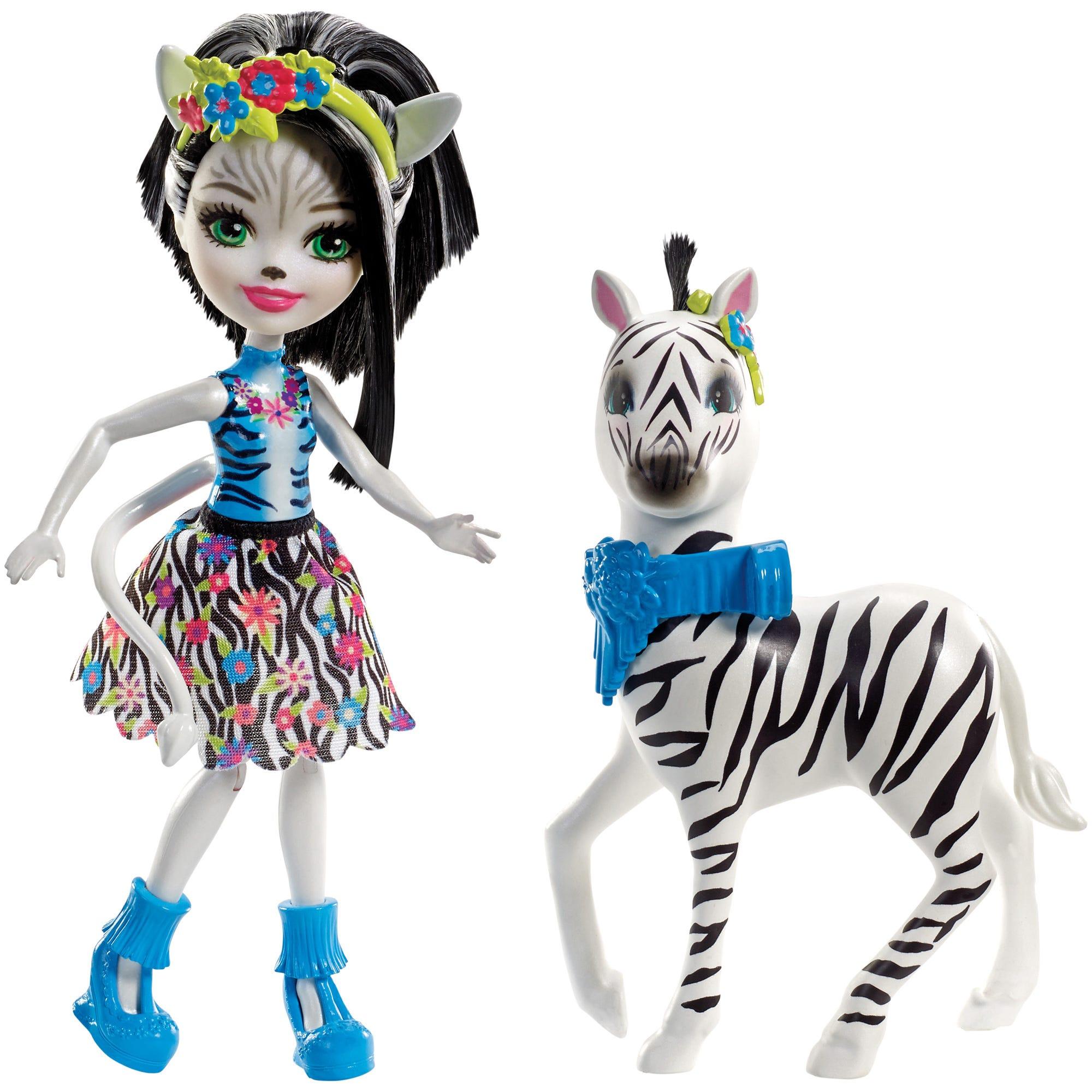 Enchantimals Zelena Zebra Doll