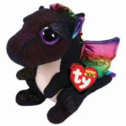 TY Anora Black Dragon Beanie Boo