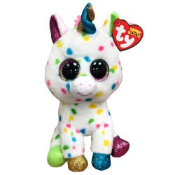 TY Harmonie Spotty Unicorn Beanie Boo