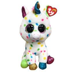 TY Harmonie Spotty Unicorn Boo Buddy