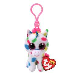TY Harm Spot Unicorn Booclip Soft Toy