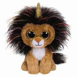 TY Ramsey Lion Beanie Boo