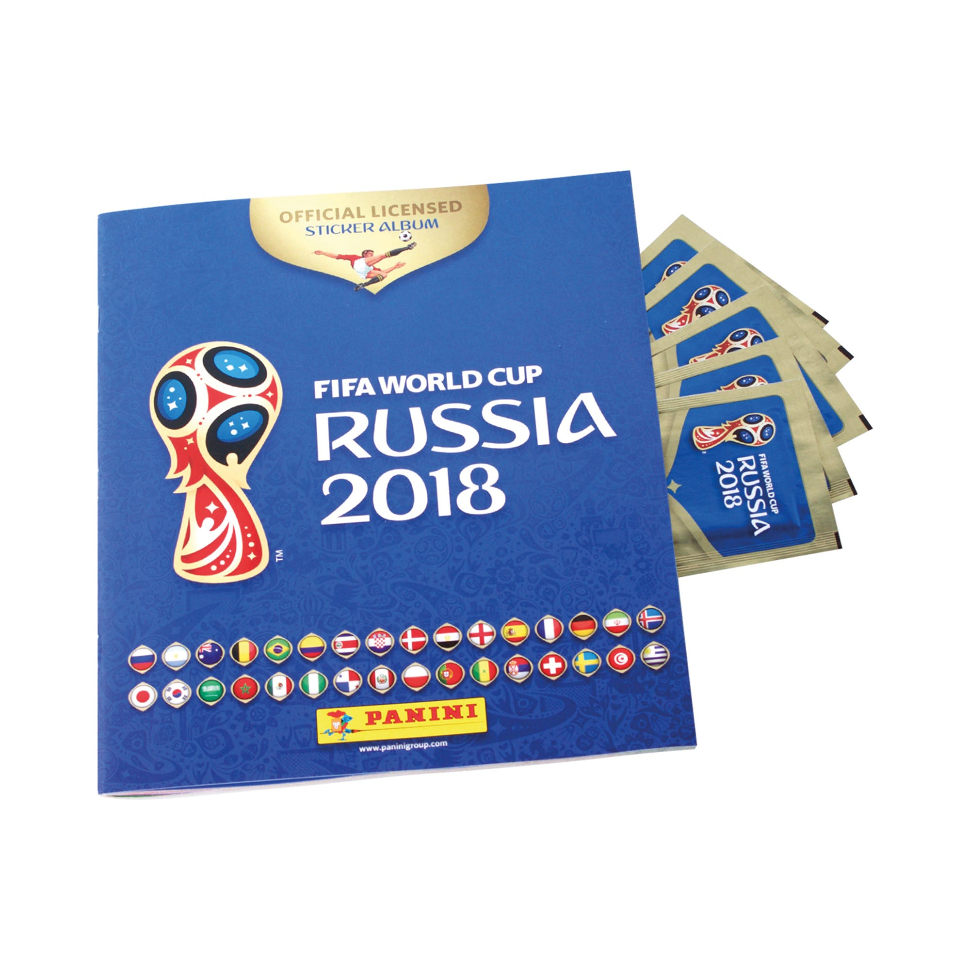 FIFA World Cup Russia 2018 Sticker Collection Starter Pack