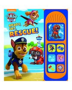 Paw Patrol Ready Set Rescue Sound Book