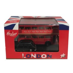 Hamleys London Bus & Taxi Set
