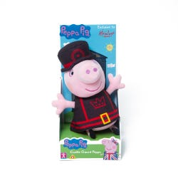 Hamleys Exclusive Castle Guard Peppa Soft Toy