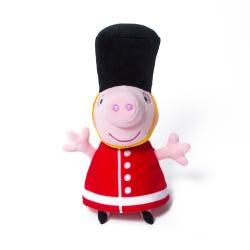 Hamleys Exclusive Queen's Guard Peppa Soft Toy